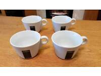 Lavazza coffee cups (4)