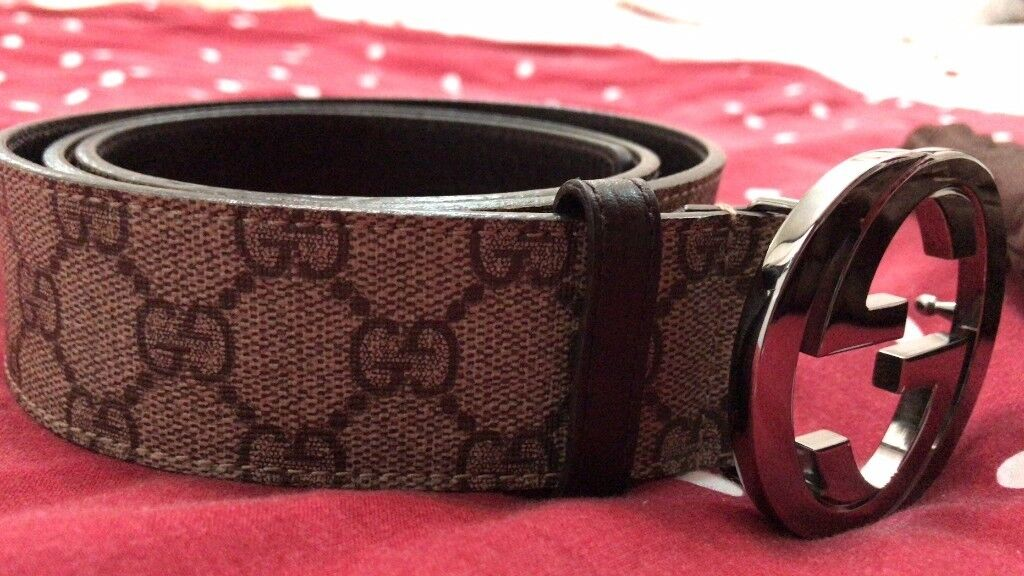 c83f7bde04f Gucci GG Supreme Belt with G Buckle