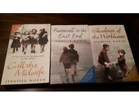 SET OF 3 CALL THE MIDWIFE BOOKS