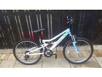 Girls appollo 24in mountain bike