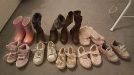 Bundle Girls' shoes size 6 and 7