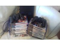 Ps2 bundle lots of games and two controllers