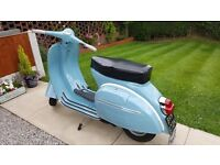 SUPERB VESPA 150 SUPER 1972 12 MONTHS MOT TAX EXEMPT