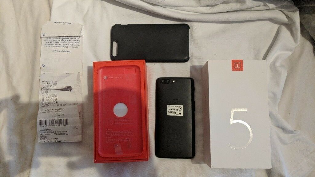 OnePlus 5 128GB Unlocked **PRICE DROP** Excellent condition Proof of Purchase