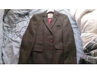 Mens wool mixed Tweed blazer by Cavani