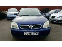 Vauxhall Vectra Club 16V 2005 Blue Manual