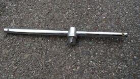 """Sliding T-Bar 400 mm Length for 3/4"""" Drive Socket Set"""