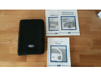 Genuine-Ford-Focus-Owners-Manual-Handbook-Document-Pack-Wallet-2001