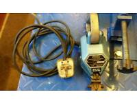 Ex O/driver's parts..2Tyre cutting machines+2container lock's-&trailer pin lock
