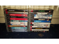 24 Playstation 3 Games (Batman, Resident Evil, Need For Speed, Ridge Racer, Farcry)