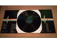 PINK FLOYD DARK SIDE OF THE MOON 1973 - SHVL 804 - WITH 2 ORIGINAL POSTERS.
