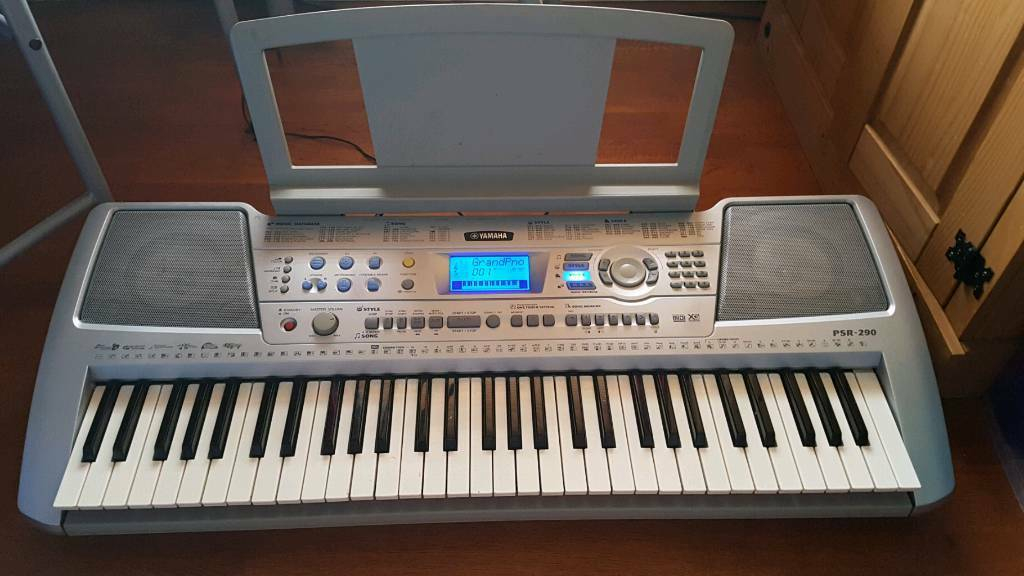 yamaha psr 290 keyboard in neath neath port talbot. Black Bedroom Furniture Sets. Home Design Ideas