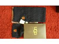 Ugg hat n scarf set brand new with tags
