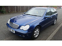 2003 Automatic Mercedes C 180 Komp 5 doors estate