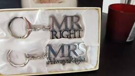 Mr & Mrs Keys Rings