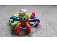 ELC octopus with melodies and light
