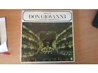 Mozart Don Giovanni 3LP