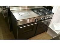 120cm dual fuel range cooker !!