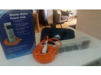 Sunncamp Mobile Mains Power Unit - Brand New