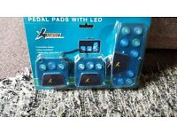 PEDAL PADS WITH LED - NEW SEALED