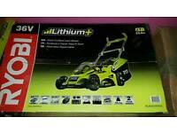 Ryobi 36V Cordless Lawn Mower Brand New RLM36X40H50