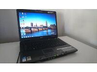Acer Travelmate 5720 15.4'' WXGA Intel Core 2 duo T7300 2.0ghz 2048mb ram 160gb Win 7 + Win XP