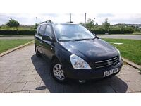 KIA SEDONA CARNIVAL 7 SEATER NEW SHAPE LOW MILEAGE DIESEL AUTOMATIC BRAND NEW DISCS AND PADS FITTED