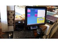 Superb Samsung EPOS System(10 months old)touchscreen,scanner,electronic scale,cash drawer,printer.