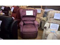 Ex-display Dual Motor Cosi Ambassador Riser Recliner Chair