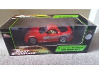 Fast and furious 1:18 Mazda Rx7 reaching champions Diecast Model