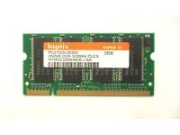 Hynix PC2700S 256 MB SO-DIMM 333 MHz DDR Memory HYMD232M646D6-J AA