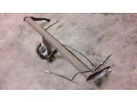 JUST IN (21/8/18): Toyota avensis tow bar (off the car and ready to go)... D4D VVTi