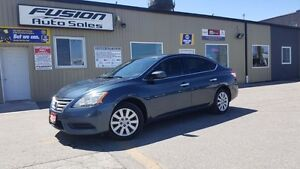 2013 Nissan Sentra S-BLUETOOTH-1 OWNER OFF LEASE-FUEL EFFICIENT