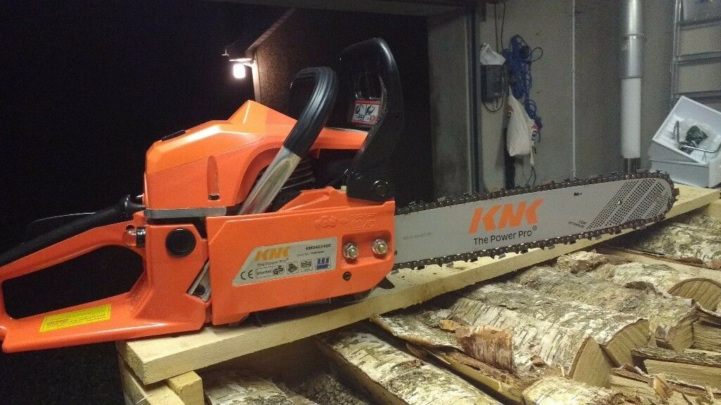 New KNK 46 cc chainsaw