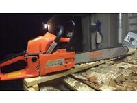 New KNK 46 cc chainsaw