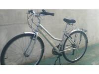 Men's ladies hybrid bike road bike
