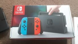 Nintendo switch (like new)