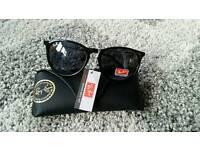 Rayban black erika sunglasses. New
