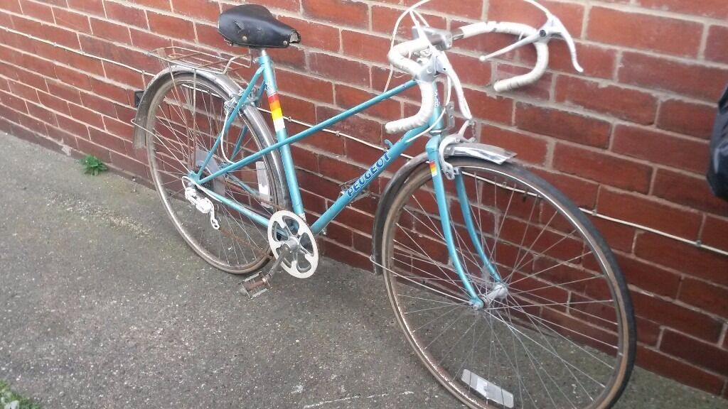 peugeot riviera vintage bike 20 inch 5 speed fair condition | in