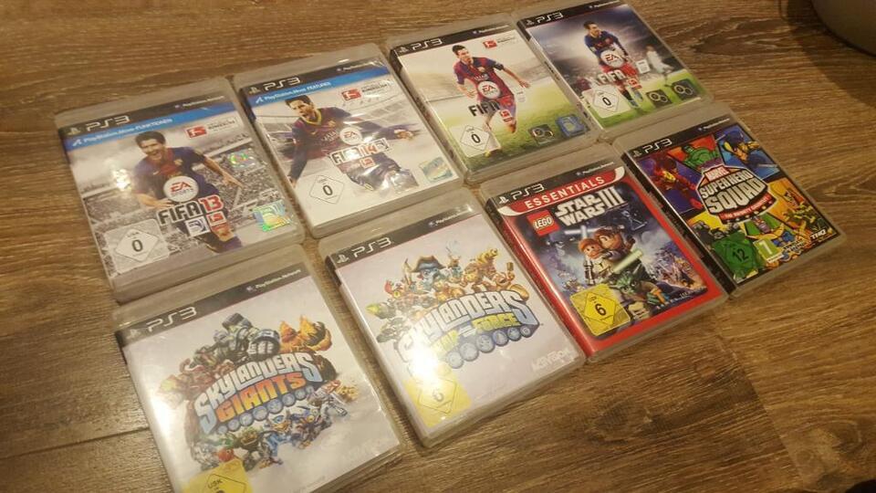 Playstation 3 incl.11 Spiele in Essen - Essen-Kray