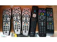 Sky and by remotes