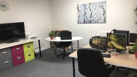 4/5 Person Office to Rent Uxbridge Flexible Terms