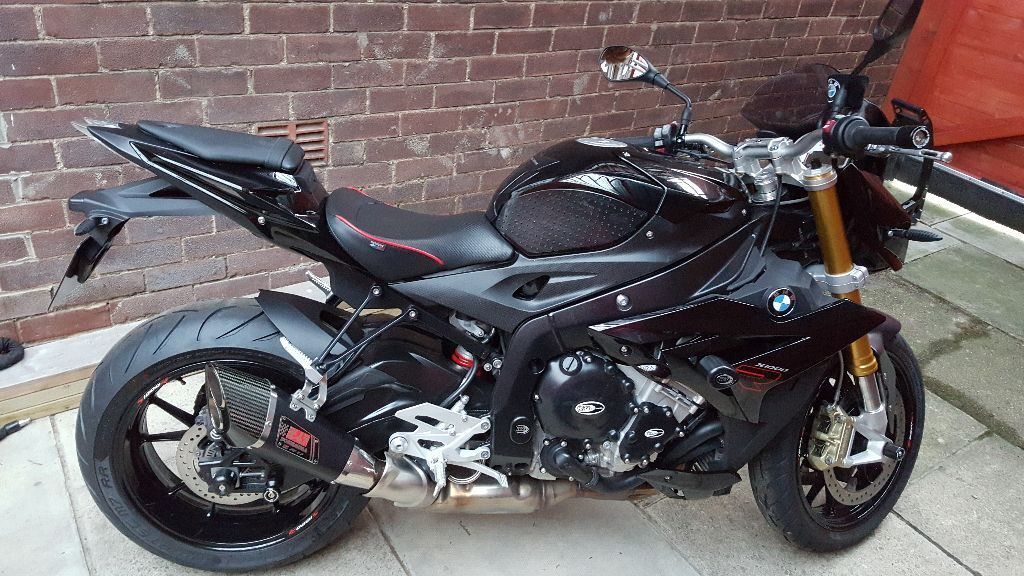Bmw S1000r Full Sport In Black 2015 Cruise Quick Shifter