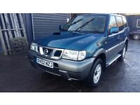 breaking nissan terrano blue 3.0 neo diesel parts spares
