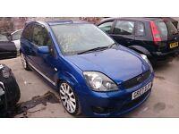 Fiesta st front bumper blue