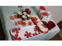 Red themed Kitchen Accessories