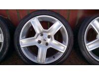 peugeot 207 17 inch alloy wheels