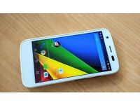 Moto g 4g - White - Good condition