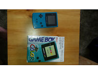 Gameboy Color in original box - mint condition