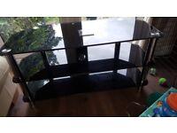 Large 3 shelf tv stand